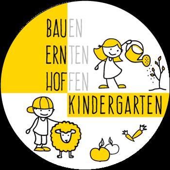 Bauernhof Kindergarten Logo