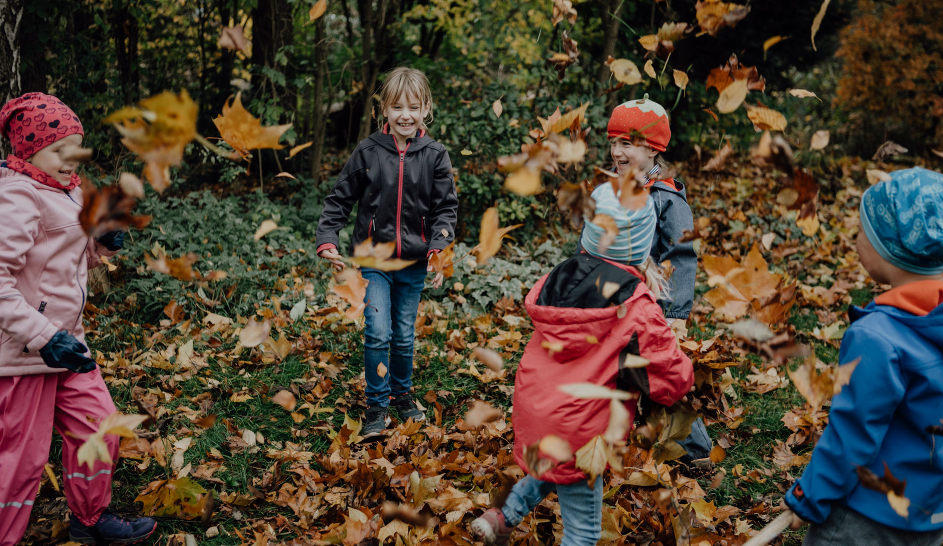 Kinder Bauernhofkindergarten Langenau